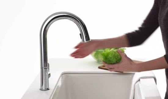 low flow kitchen faucet