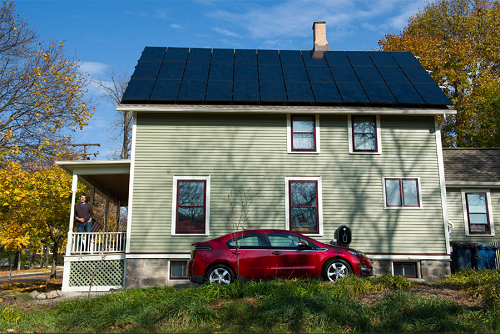 Matt Grocoff's net zero energy home
