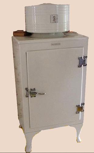 Old Fashioned Freezer Box