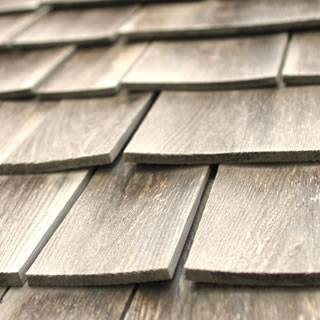 wood shingle, sidewall shingle, flat grain wood