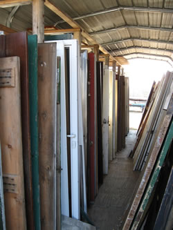 salvaged doors dealer inventory