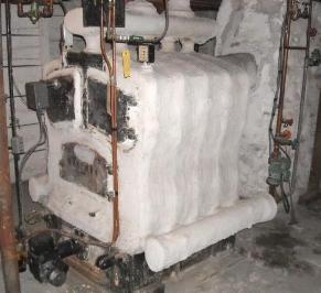 how to make a homemade coal furnace