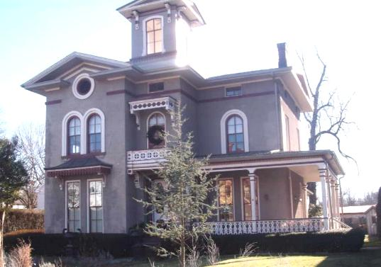 Italianate style house