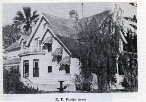 Foster House courtesy of Westside Community Council Web site