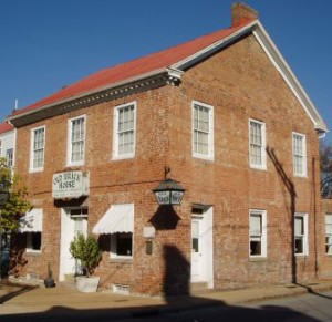 Oldest Brick House West of the Mississippi--photo from oldbrickhouse.com