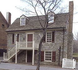 Old Georgetown House -- photo from DC SHPO