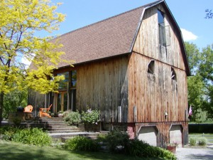 Convert an old barn into your new home -- photo from georgebakerarchitects.com