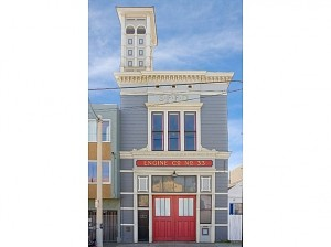Old San Francisco Firehouse -- photo from zillow.com