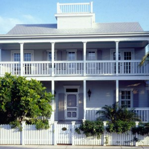 Marivin energy efficient windows in Truman Annex Key West -- photo from marvin.com