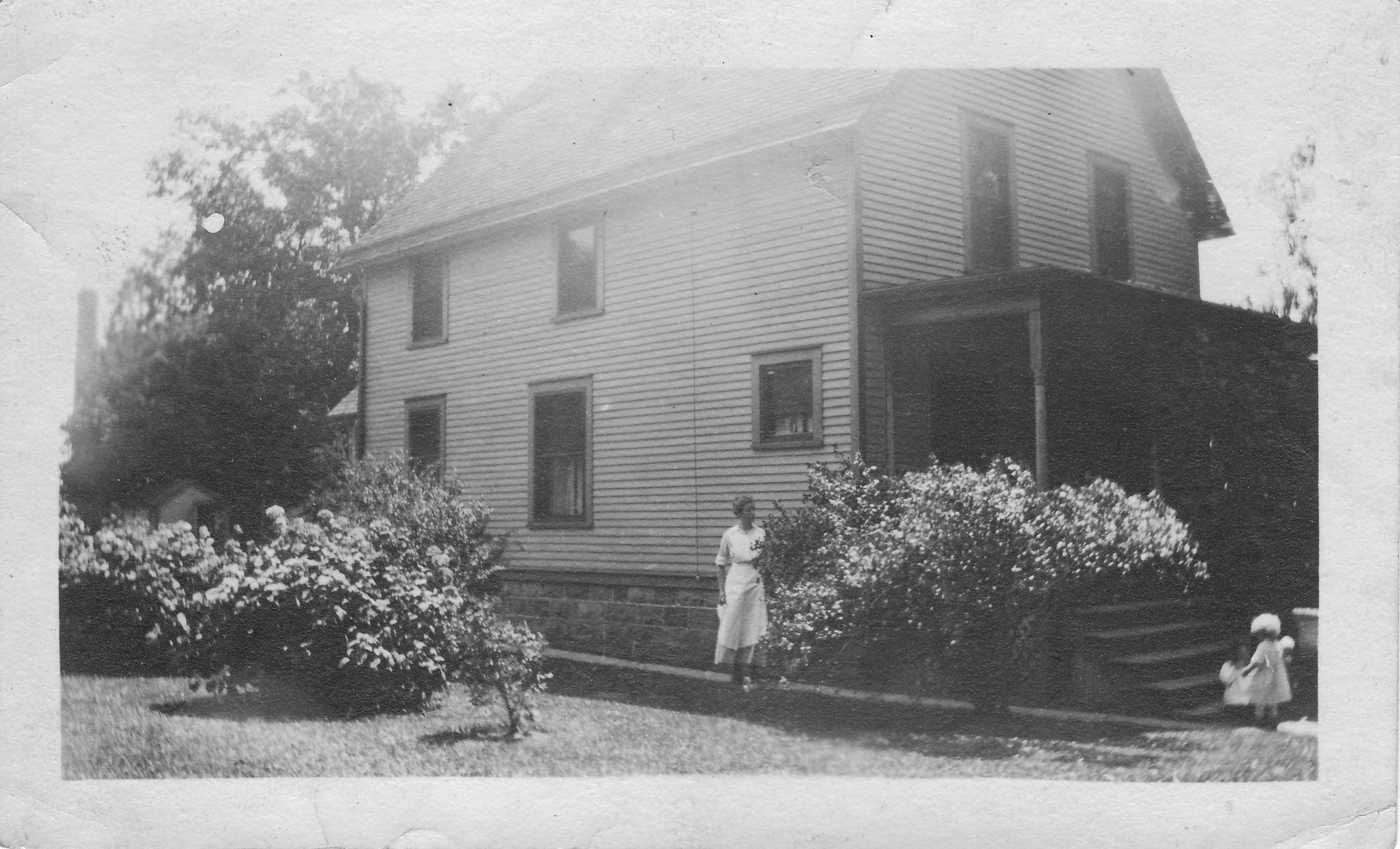 Gauss House circa 1913 - this old house used natural ventilation for cooling, but over 1200 lbs of dirty coal per month for heating and cooking.