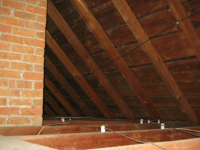 Our attic had no insulation, but that allowed us to make sure we chose the correct product and have it installed properly.
