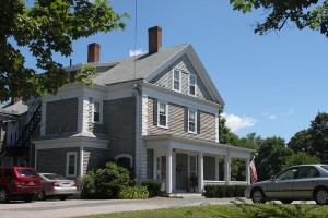 New England connected farm house -- photo courtesy of watertown.patch.com