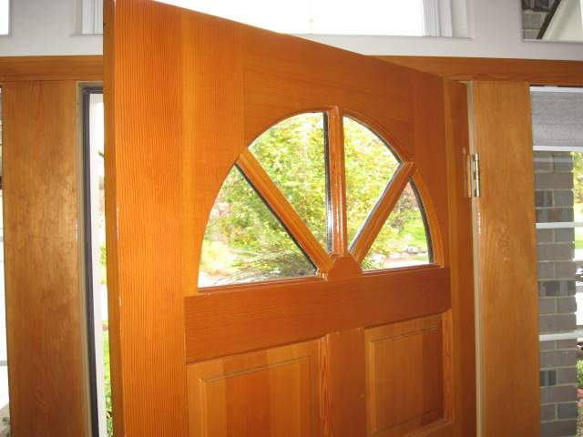 But if they follow the entry door glass scratched inside & Replacing Damaged Glass in an Entry Door | Old House Web