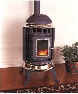 pellet stoves small stove big heat old house web. Black Bedroom Furniture Sets. Home Design Ideas