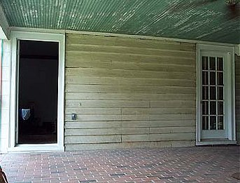 Enon Hall porch