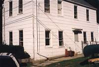 House with asbestos siding
