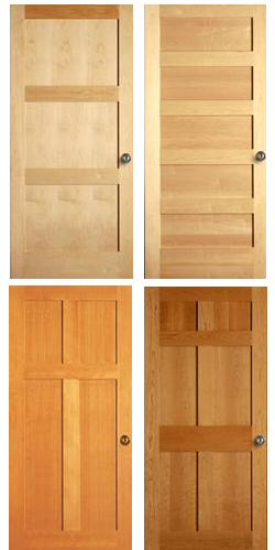 Interior Doors: Shaker Choices