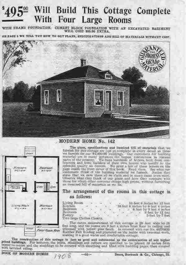 Sears house plans 1908 Home design and style