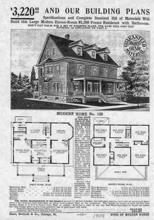 Sears Homes Old Catalog | Old House Web