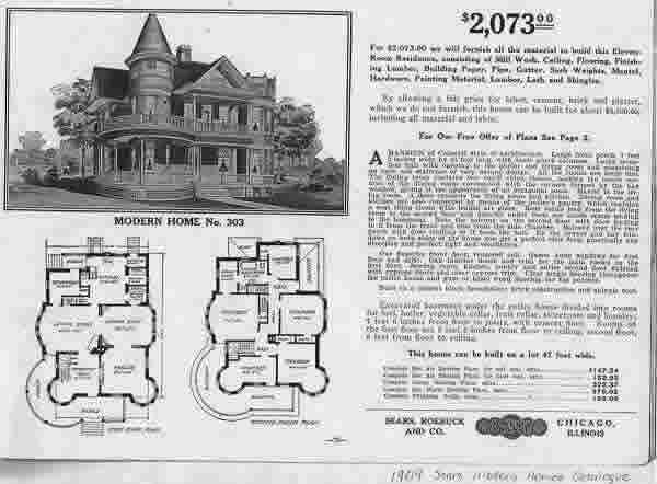 Sears Homes Old Catalog Old House Web