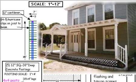 Wrap-around porch on a budget | Old House Web