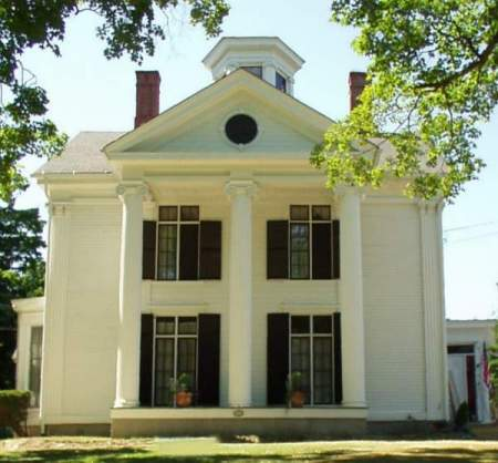 Greek Revival temple