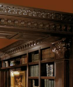 Cabinetry la bibliotheque old house web for Andre julien kitchen cabinets