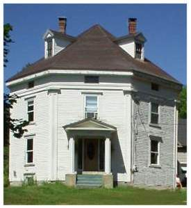 Maine octagon house