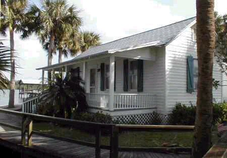The Grant House In Brevard County Was Transported By Boat From Jacksonville And Erected On Its Site Indian River 1916