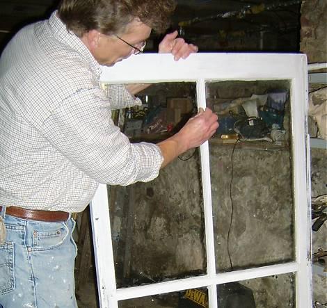 Repairing Wood Windows Old House Web
