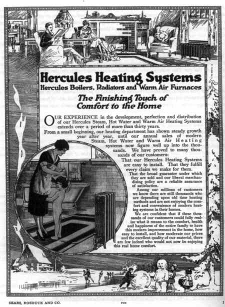 heating ad