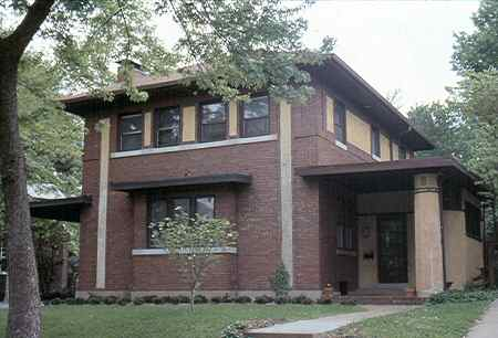 Prairie home architecture and design features