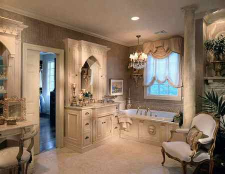 Gothic bathroom old house web for Gothic bathroom ideas