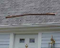 Incroyable Roofing: Rain Diverter
