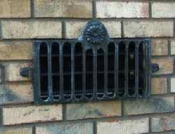 Cast aluminum cast aluminum foundation vents - House foundation vent covers exterior ...