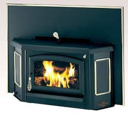 Fireplaces: Earth Stove fireplace insert | Old House Web