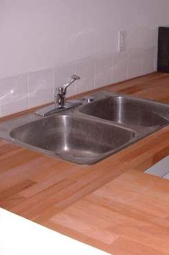 Vintage Countertop Materials : Countertop Materials: Wood for countertops Old House Web