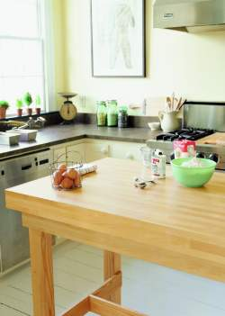 Countertop Materials: Faux butcher block Old House Web