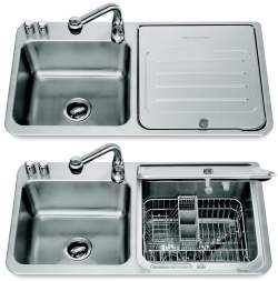 Insink : Dishwashers: In-sink dishwasher Old House Web