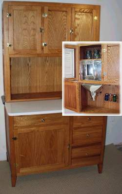 Furniture Hoosier Cabinet Old House Web