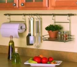 Kitchen Storage: Backsplash storage | Old House Web