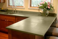 Tile Countertop Materials : Countertop Materials: Concrete tiles Old House Web