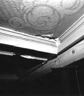 structural settling of ceiling