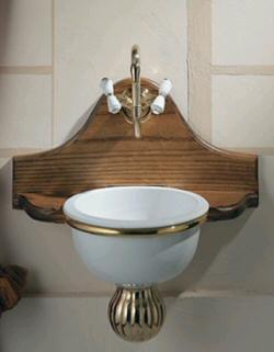 Space Saver Bathroom Sink : Bathroom Sinks: Space-saver Old House Web