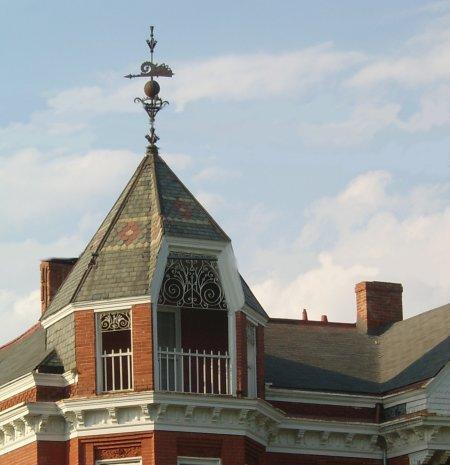Slate Roofs Old House Web