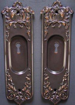 Pocket Door Hardware Vintage Plate Old House Web