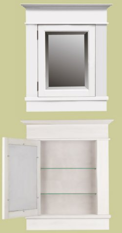 Bathroom Cabinetry: Mendenhall Medicine Cabinet