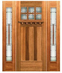 Entry Doors: Craftsman Style