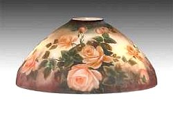 Lamp Shades: Glass Roses | Old House Web