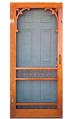 Screen Door Plans Sd Group Sweet 15 Solid Wood Security